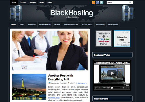Permanent Link to BlackHosting
