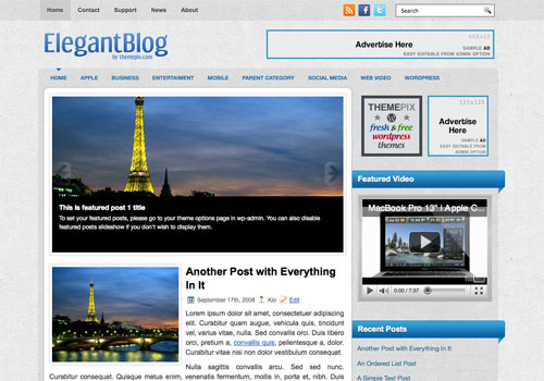 ElegantBlog Screenshot