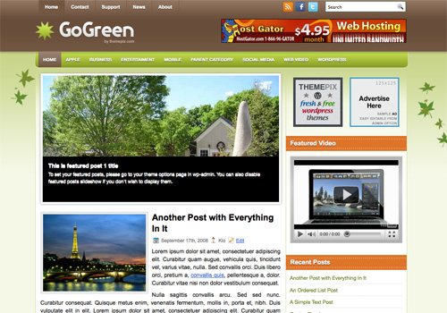 GoGreen Screenshot
