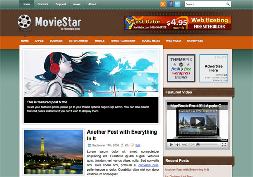 MovieStar Screenshot