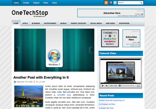 OneTechStop Screenshot
