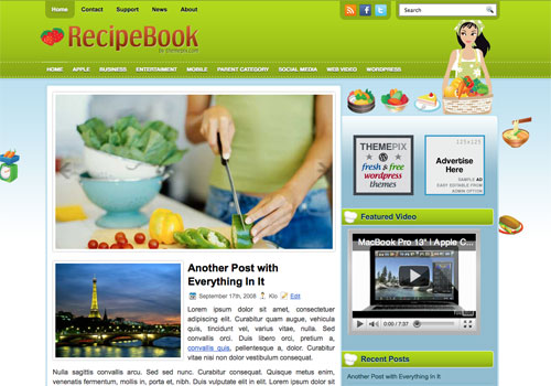 RecipeBook Screenshot